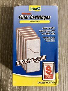 Tetra19550 6-Pack Whisper Aquarium Filter Cartridge Small Aquarium Filter