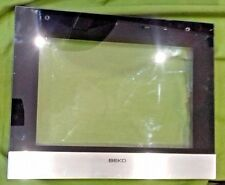 BEKO ODF21300 ODF22300 ODF24300, etc OVEN BOTTOM DOOR OUTER GLASS (ODF3.07X)