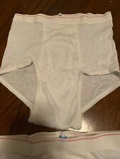5 Nos Vtg Underwear Montgomery Ward Briefs Cotton Polyester Small Jefferson Ward