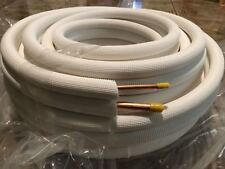 14 X 12 X 50 Ft Insulated Copper Tubing Mini Split Ductless Line Set For Ac