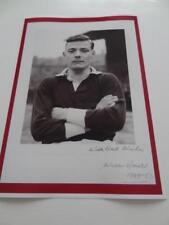 Hearts Fc Heart Of Midlothian Fc Willie Bauld Signed Autograph Reprint Exclusive