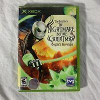 Tim Burton's The Nightmare Before Christmas: Oogie's Revenge - Original Xbox