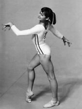 G7972 Nadia Comaneci Performing in Floor Exercise Vintage Laminated Poster FR