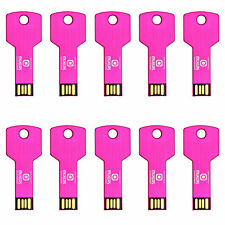 Lot 50 1/2/4/8GB USB Flash Drive Disk Memory Pen Stick Key Free Custom Logo Gift