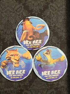 2006 Ice Age Button Pins