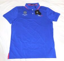 Ralph Lauren The Open Custom Fit polo Shirt -- Pacific Royal XL