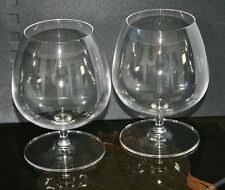 Set Of TWO Cognac Glasses Ravenhead Excellent Quality Glass 48cl NEW  AND  BOXED