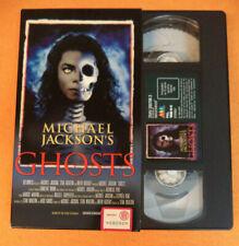 VHS cartonata MICHAEL JACKSON'S Ghosts 1997 Stan Winston AMV no cd lp dvd mc(VM7