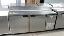 "Used Beverage Air Dp67 67"" Refrigerated Pizza Prep Table"
