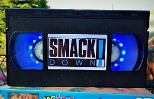 WWE Smackdown Wrestling Night Light, Desk Lamp, Led, WCW, WWF, ECW, Bedroom Lamp