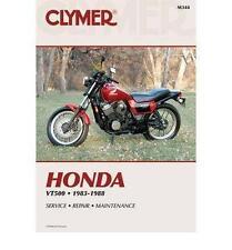 Clymer - M344 - Repair Manual for Honda VT500 FT Ascot 83-84