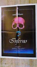 dario argento  INFERNO  ! affiche cinema epouvante model rare