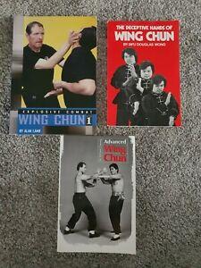 3 Wing Chun Martial Arts Books