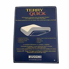ZUCCHI coprimaterasso TERRY QUICK  1 posto spugna elastica 85x190 80% cotone