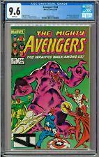 Avengers #244 CGC 9.4 White Dire Wraiths Quicksilver Lockjaw