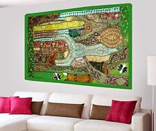 Vintage Wall Hanging Beads Hand Embroidered Patchwork Tapestry Ethnic Home Decor