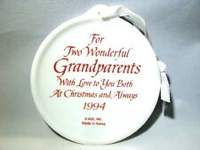Heirloom Collection Grandma and Grandpa ~Grandparents~Cardinals 1994 with Box