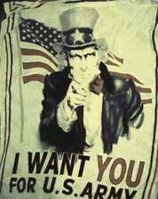 Sciarpa particolare bandiera america USA I want you fango grande foulard kefia