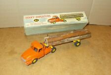 Ancienne 1/43 DINKY TOYS - No 36 A TRACTEUR WILLEME SEMI REMORQUE FARDIER - 60s