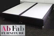 KING TWIN ENSEMBLE BED BASE AUSTRALIAN MADE - FULLY ASSEMBLED - BLACK