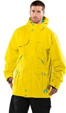 UNDER ARMOUR UA COLDGEAR STORM SKI SHELL JACKET YELLOW BLUE 1221420 MENS LARGE L