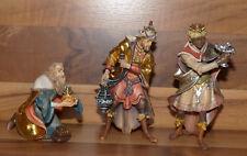 Krippenfiguren Ulrich Krippe - Heilige Könige 15cm - Holz geschnitzt - Neu