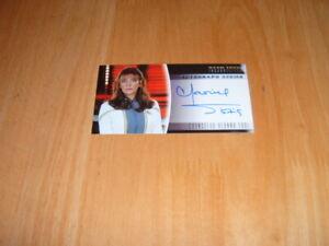 Star Trek Insurrection 1998 Autograph card A4 Counselor Deanna Troi
