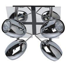 Mw-light LED plafonnier Projecteurs et spots Chrome / Métal 4 x 5w bon Marché