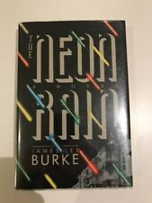 THE NEON RAIN By James Lee Burke 1st US edition SIGNED Robicheaux Excellent