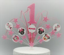 MINNIE MOUSE CAKE TOPPER CAKE DECORATION STAR BURST CAKE SPRAY BABY SHOWER 5