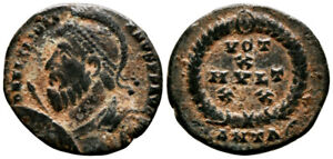 JULIAN II (361-363 AD) AE Follis. Antioch #PA 7828