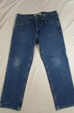 Lee 200 8944 Regular Fit Straight Leg Faded Denim Jeans Tag 36x29 Measure 36x29