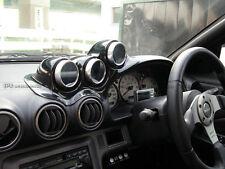 ACE Dash Mount Triple Gauge Pod 60mm (RHD) For Nissan S15 Uras Type Carbon Fiber