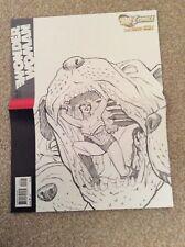 WONDER WOMAN # 6 Variant Wraparound Sketch Cover New 52! NM DC COMICS
