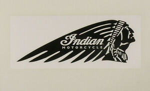 PRL) INDIAN MOTORCYCLE BIKE ADESIVO STICKER COLLECTION AUTOCOLLANT AUFKLEBER