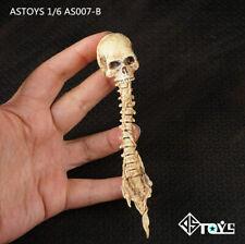 """1/6 Mud  Zombie Alien Skull Skeleton Head Sculpt Props Fit 12"""" Figure Toys Model"""