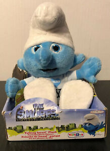 The Smurfs Exclusive Talking Smurf Plush (Clumsy), I Love New York 9 Inch Tested