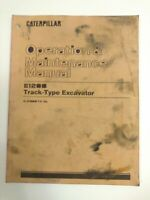 CAT Operation And Maintenance Manual Caterpillar E120B Track-Type Excavator