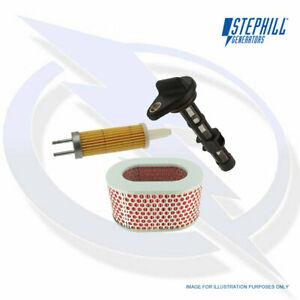 SERVICE KIT (OIL, FUEL, AIR FILTER) FOR STEPHILL SE6000S GENERATORS