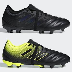 adidas Copa Gloro 19.2 FG Mens Football Boots Leather Black Yellow SIZE 6 7 8