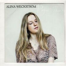(HC575) Alina Weckstrom, Paper Thin - 2015 DJ CD