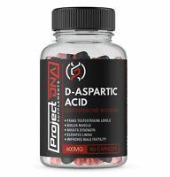 D-Aspartic Acid 600mg 80 Capsules | Project DNA Supplements