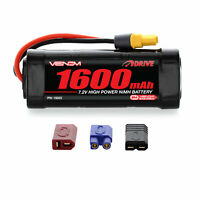 Venom NiMH Battery : Traxxas E-Revo 1:16 7.2V 1600mAh 6 Cell with UNI Plug
