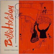 "BILLIE HOLIDAY: Clef Records 10"" MG C-161 DSM Artwork Orig Jazz LP NM- Vinyl"