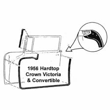 1972-76 FORD FAIRLANE//TORINO FASTBACK//NOTCHBACK HARDTOP DR SEALS D20Z-6520530-PR