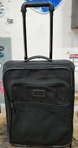 "TUMI 18"" Upright Wheeled Carry On Luggage. Style 2264D3."