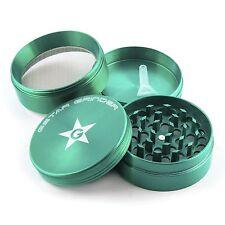 GStar 2.25 Inch 4 Pieces Aluminum Tobacco Spice Herb Grinder-Green