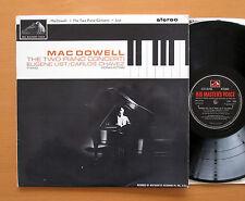 CSD 1530 Macdowell Two Piano Concertos Eugene List Chavez 1962 HMV Stereo NM/EX