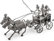 "Brubaker Wedding Carriage - Metal - 14.75"" - Table Top Centerpiece"