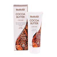 HealthAid Manteca De Cacao Crema - Rico & hidratante para LISA Flexible, blanda